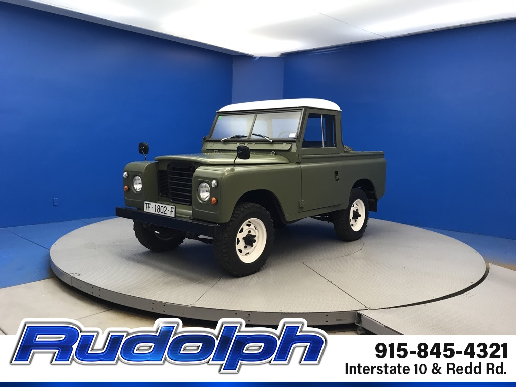 Pre-Owned 1975 Land Rover Series III 109 Santana