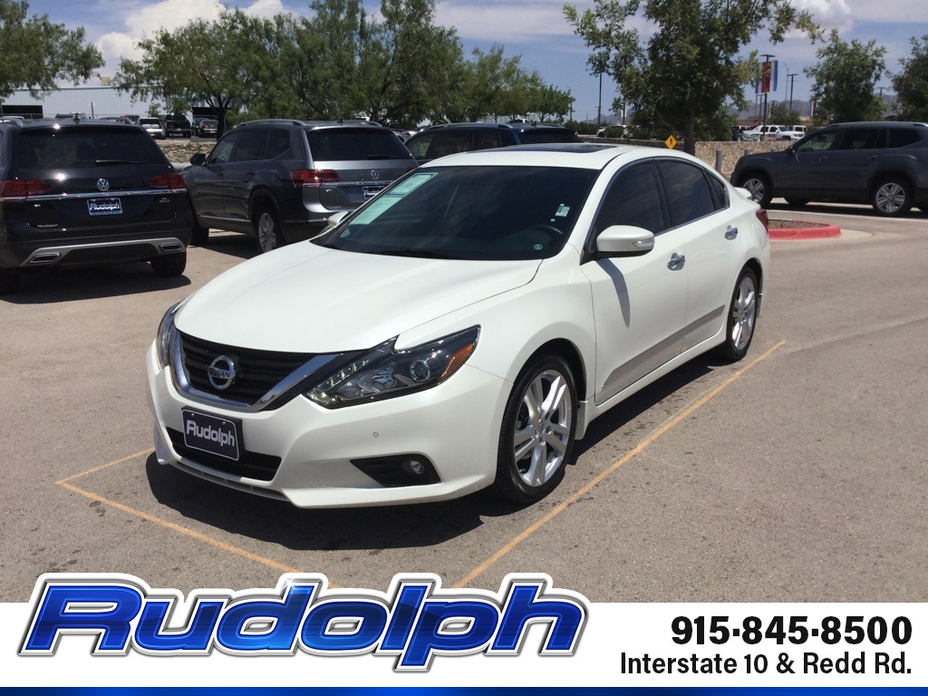 2016 Nissan Altima 3.5 Sl >> Pre Owned 2016 Nissan Altima 3 5 Sl With Navigation
