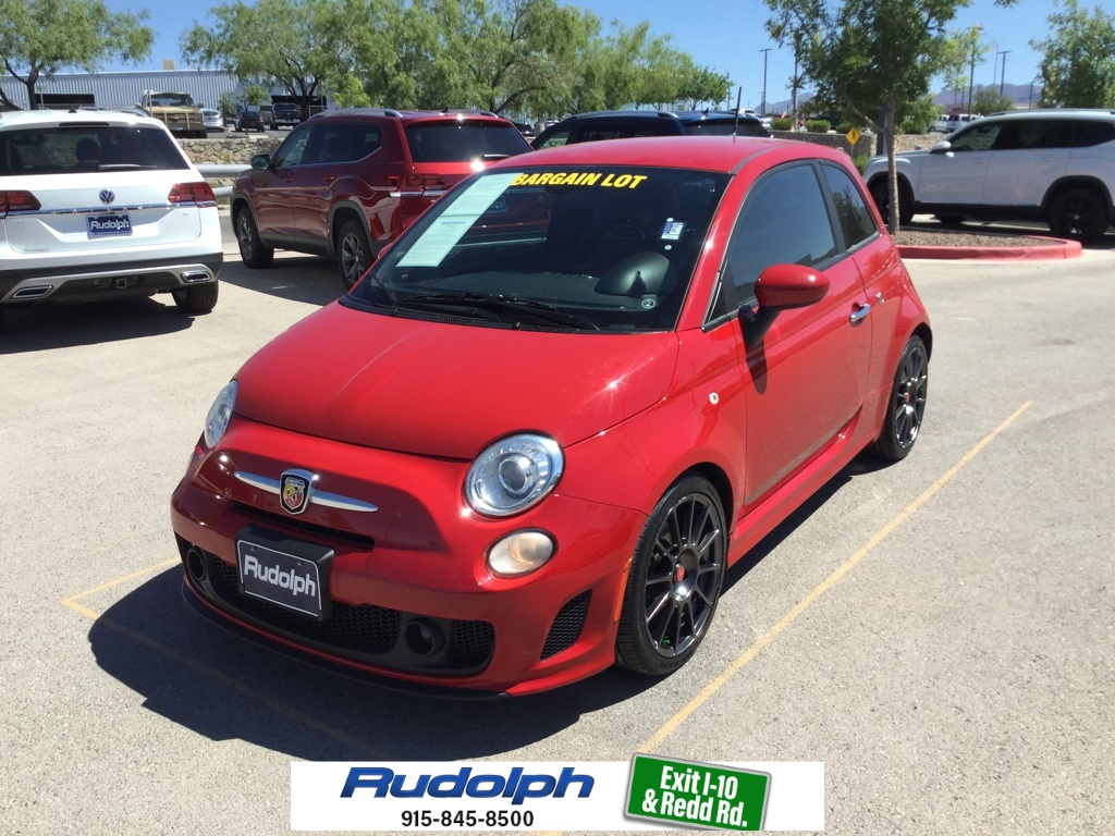 Pre-Owned 2015 FIAT 500 Abarth