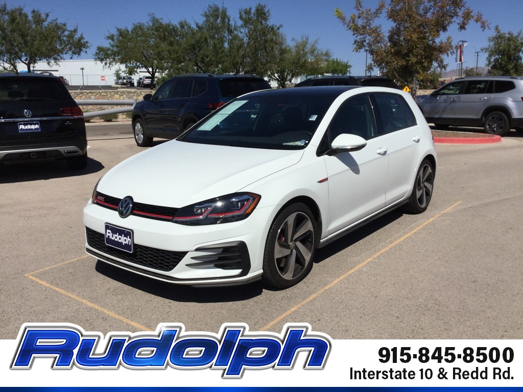Pre-Owned 2019 Volkswagen Golf GTI 2.0T SE